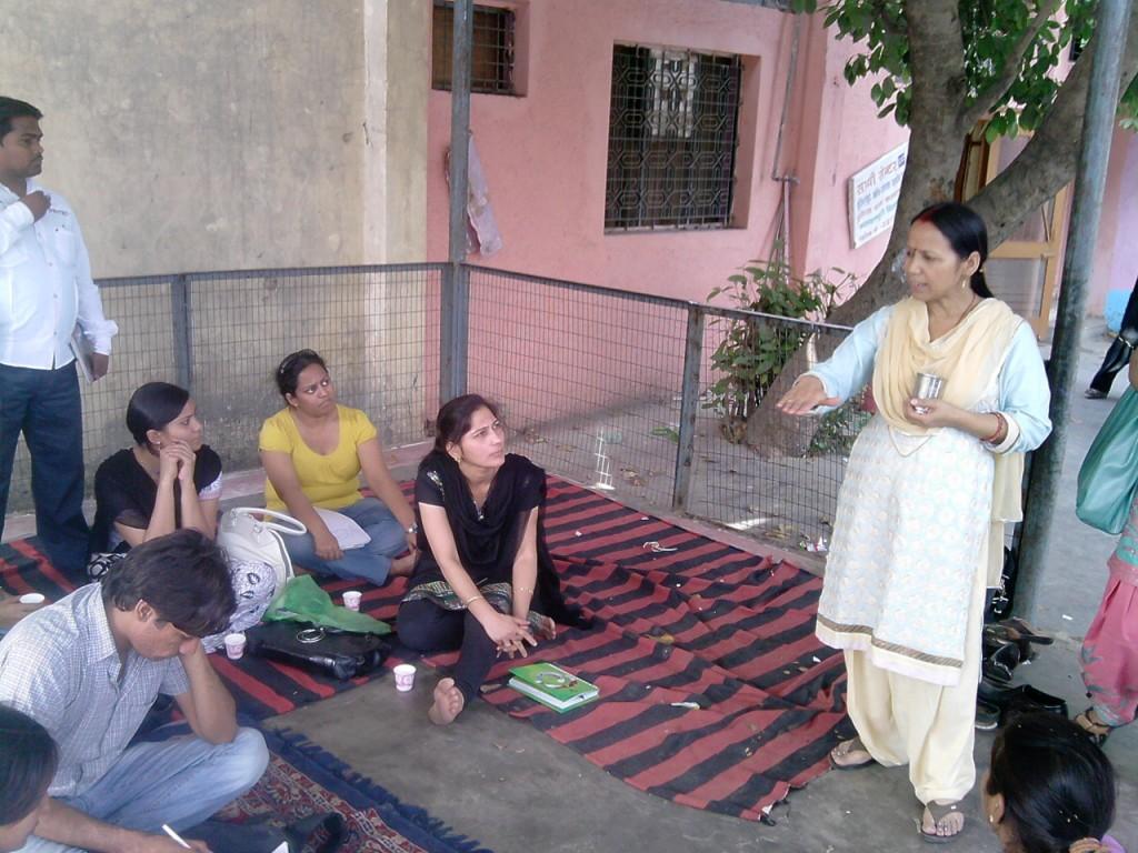 IGNOU MSW NGO Visit