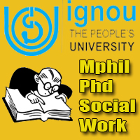 ignou-m-phil-phd-entrance-exam-social-work